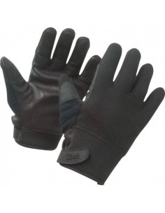 GANTS ANTI COUPURES INTEMPERIES NOIRS+