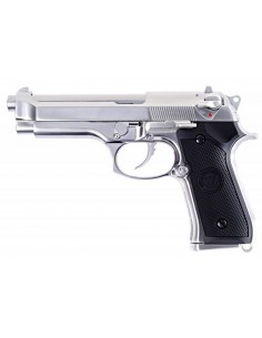 Pistolet WE M9 S Full Metal Chrome