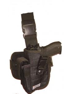 Holster de cuisse gauche noir - Swiss Arms