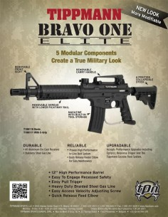 New TIPPMANN Bravo One Elite