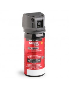 spray au poivre Sabre Red, Crossfire, Mk3, Jet fin, 10 % OC