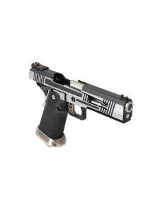 Pistolet Armorer Works - Hicapa 5.1 Split slide- Silver- CO2
