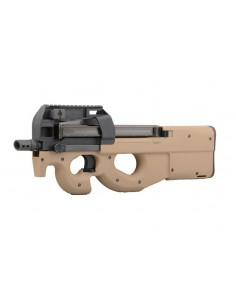WE p90 Gas Blow Back Rifle - Tan