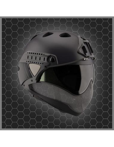 Warq casque - masque noir
