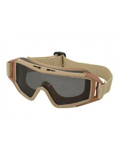 Masque tactique Grillage Airsoft - Tan Coyote