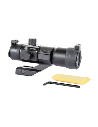 Tactical Red/Green Dot w/Angle Mount (Black Color)