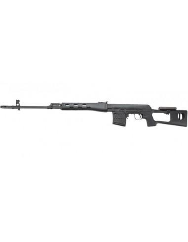 WE SVD Dragunov Gas Blow Back Rifle - Black