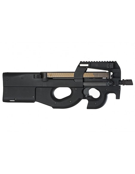 WE P90 Gas Blow Back Rifle - Black