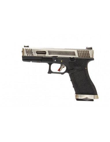 WE G17 T7 Gas Blow Back Pistol - Black