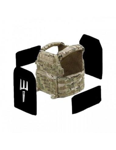 Pitchfork NIJ Level IIIA Warrior DCS Soft Armour Front Back & Sides Set